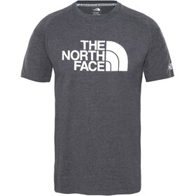 The North Face Wicker Graphic Crew Shirt Men TNF dark grey heather/high rise grey